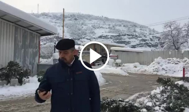 Başkan Akın'dan Karla Mücadele Açıklaması
