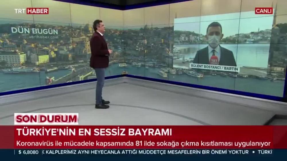 Bartın Amasra Ramazan Bayramı 2.Gün TRT Haber